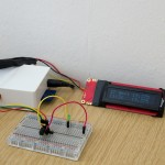 Raspberry Pi (boxed) temperature logger