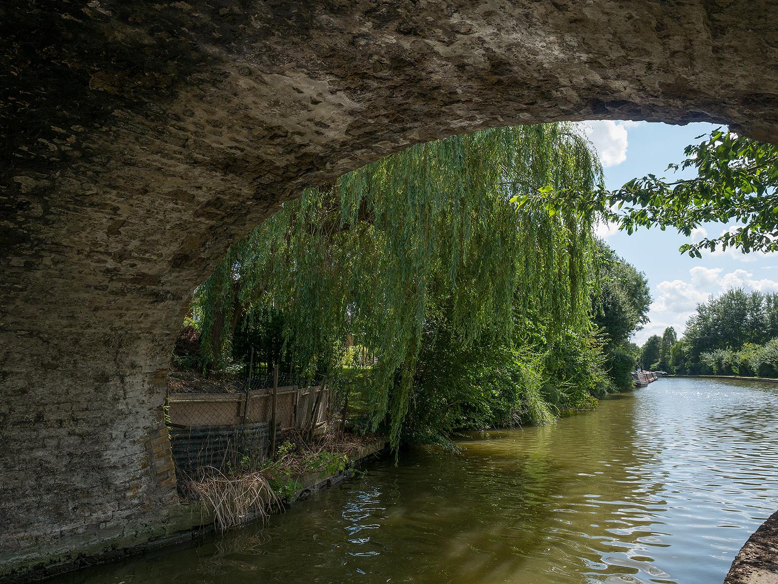 Underneath bridge 130