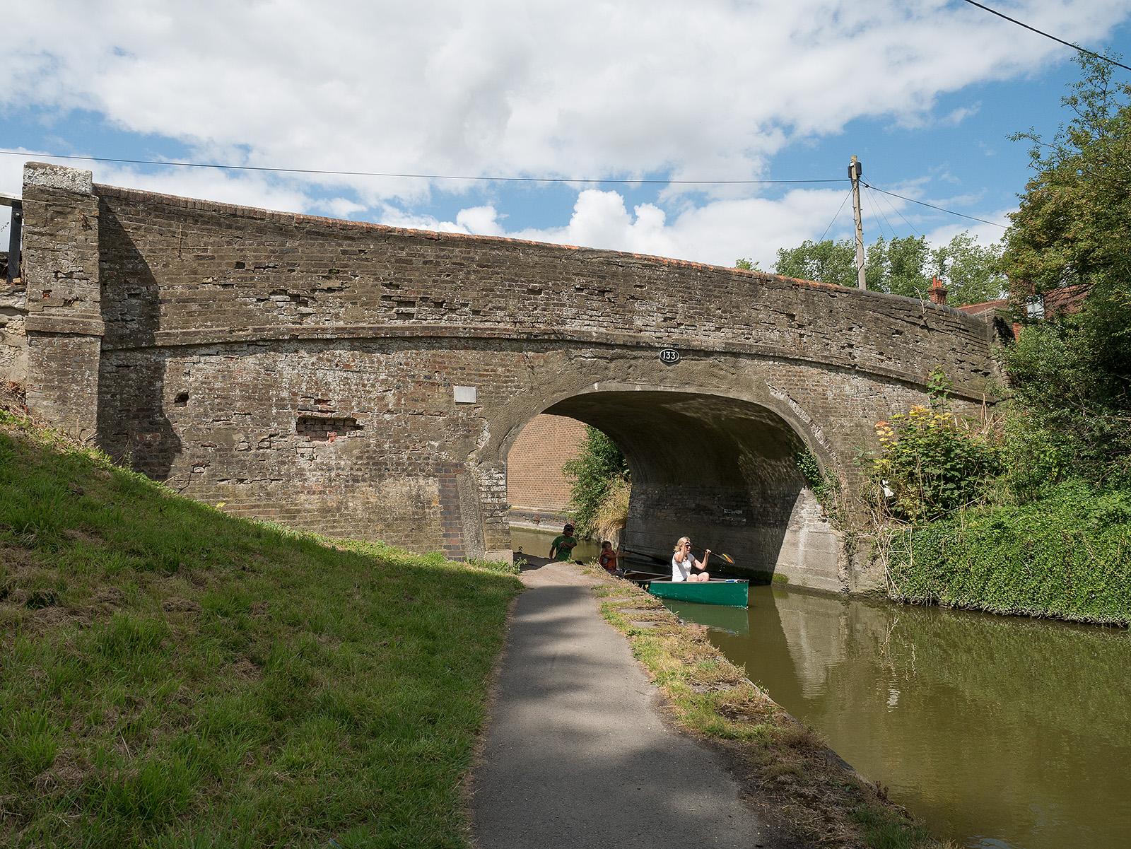 Upper Icknield Way bridge
