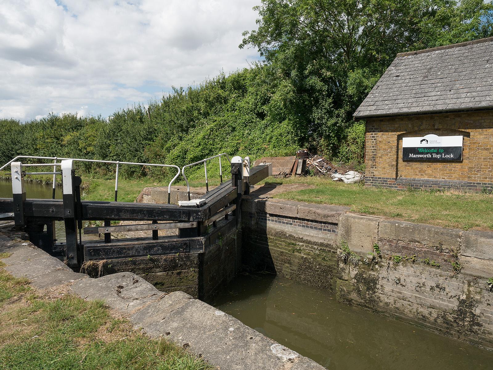 Marsworth Top Lock