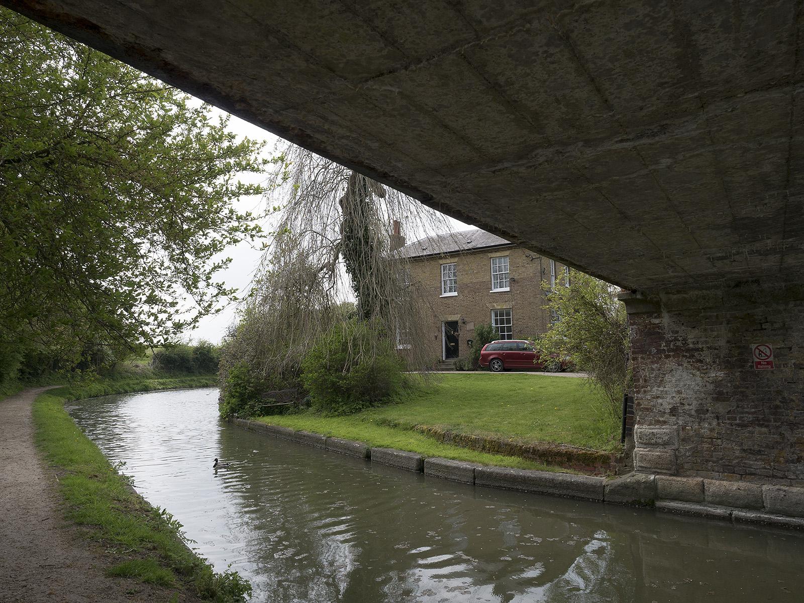 Underneath the first bridge