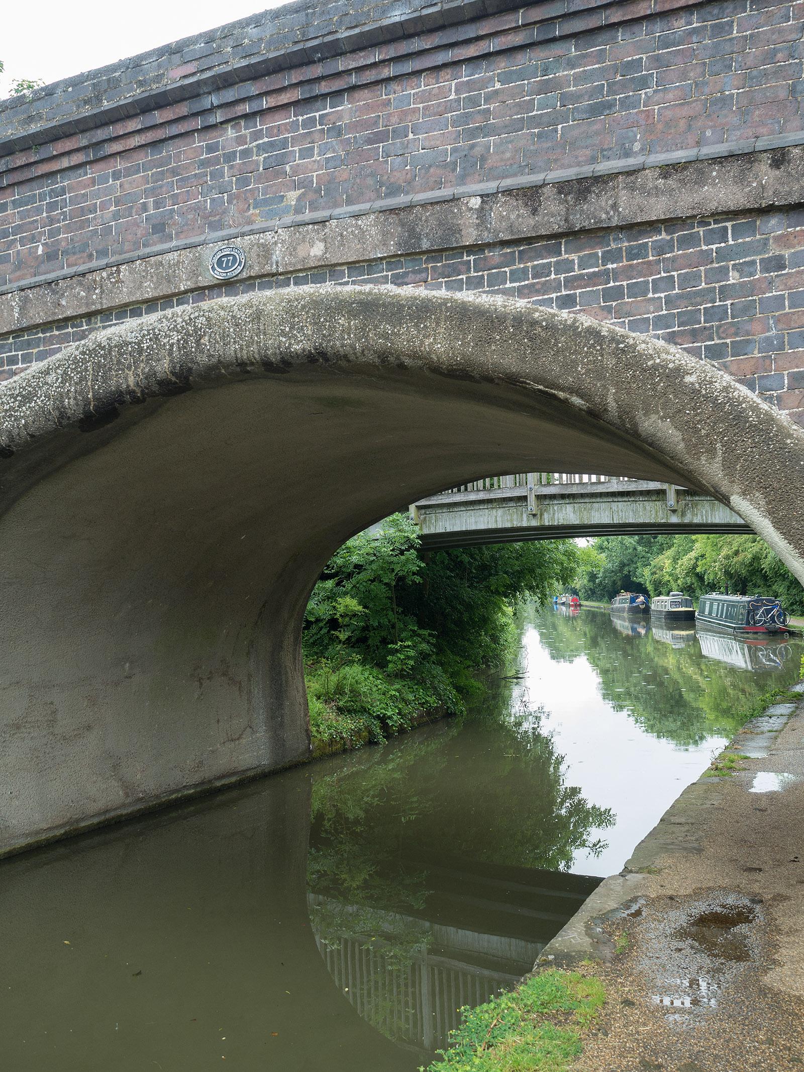 Linford wharf bridge