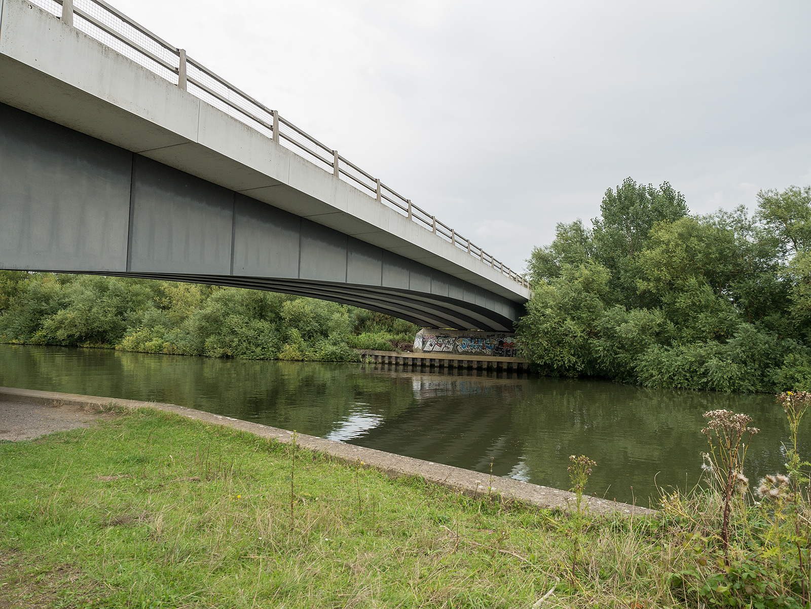 A4130 road bridge