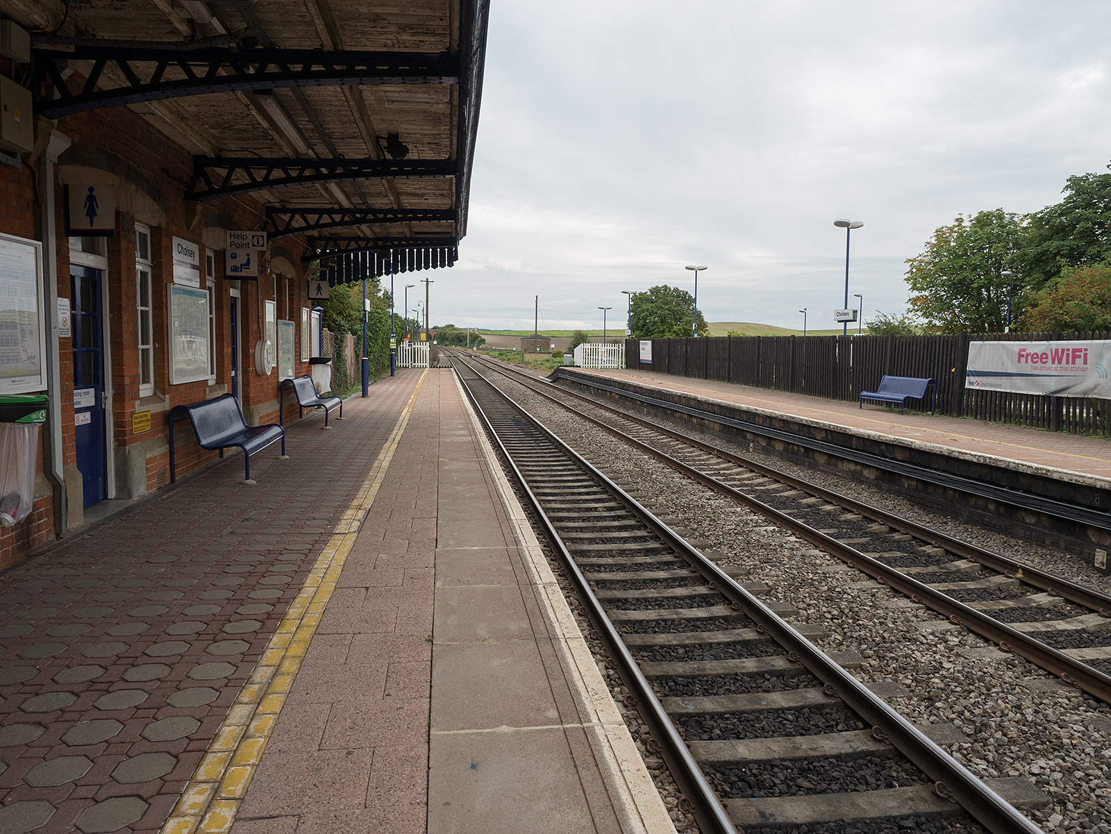 A very quiet Cholsey station