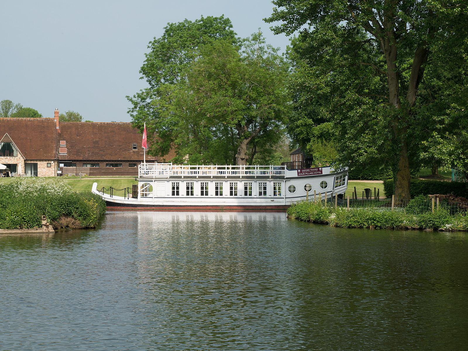 Barge at Four Pillars hotel