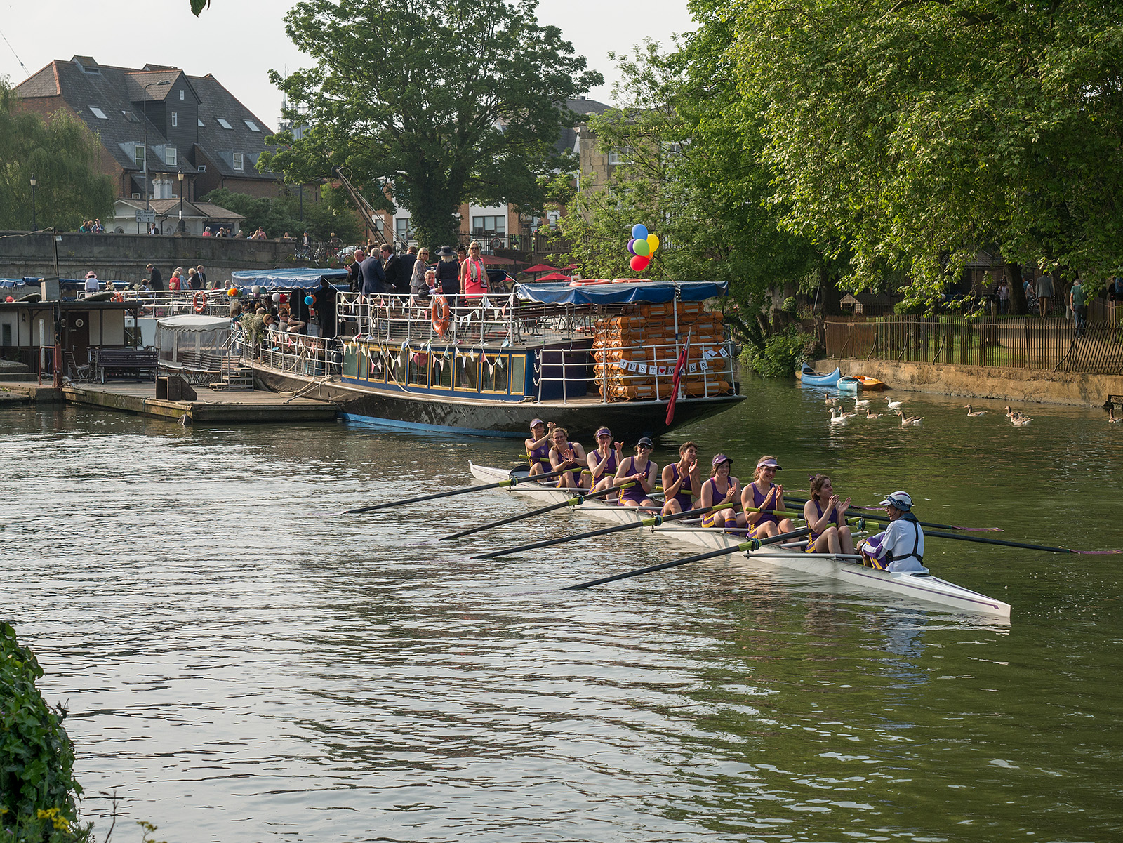 Winners - maintained their position at Head of the River