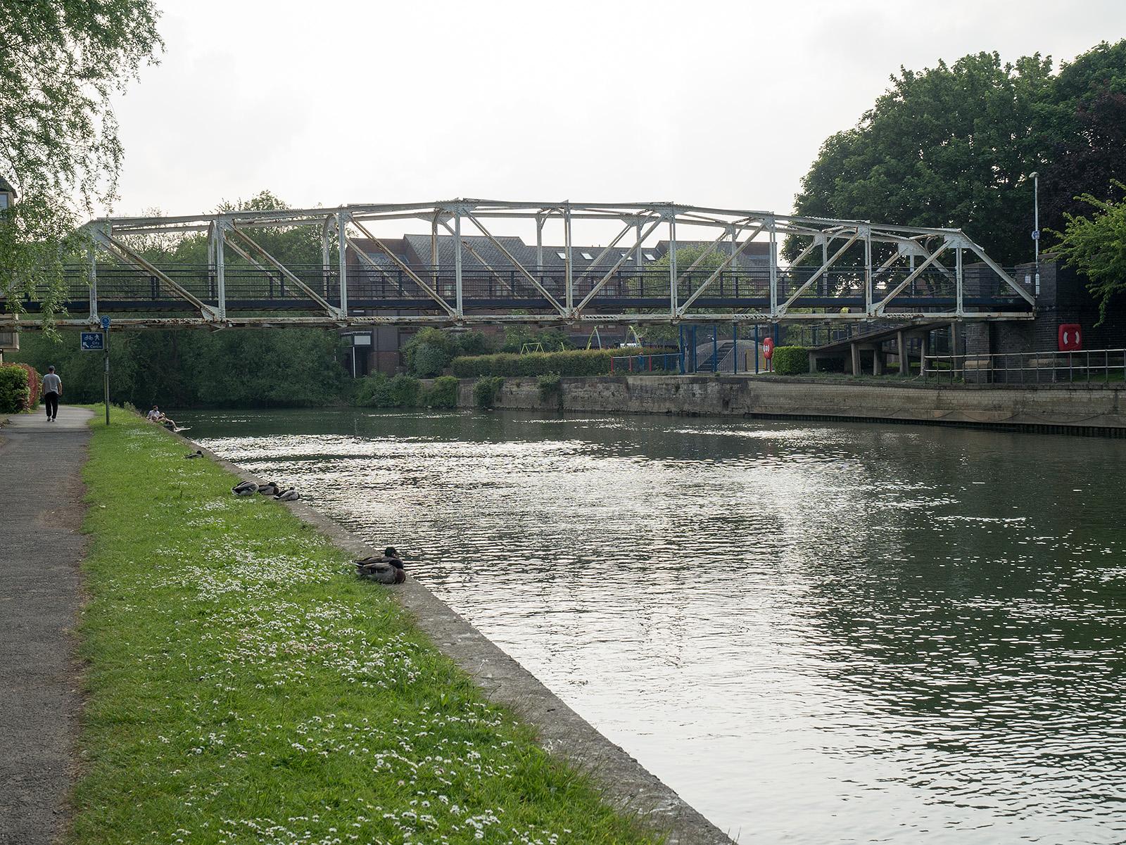 Bridge between Friars and Baltic wharves
