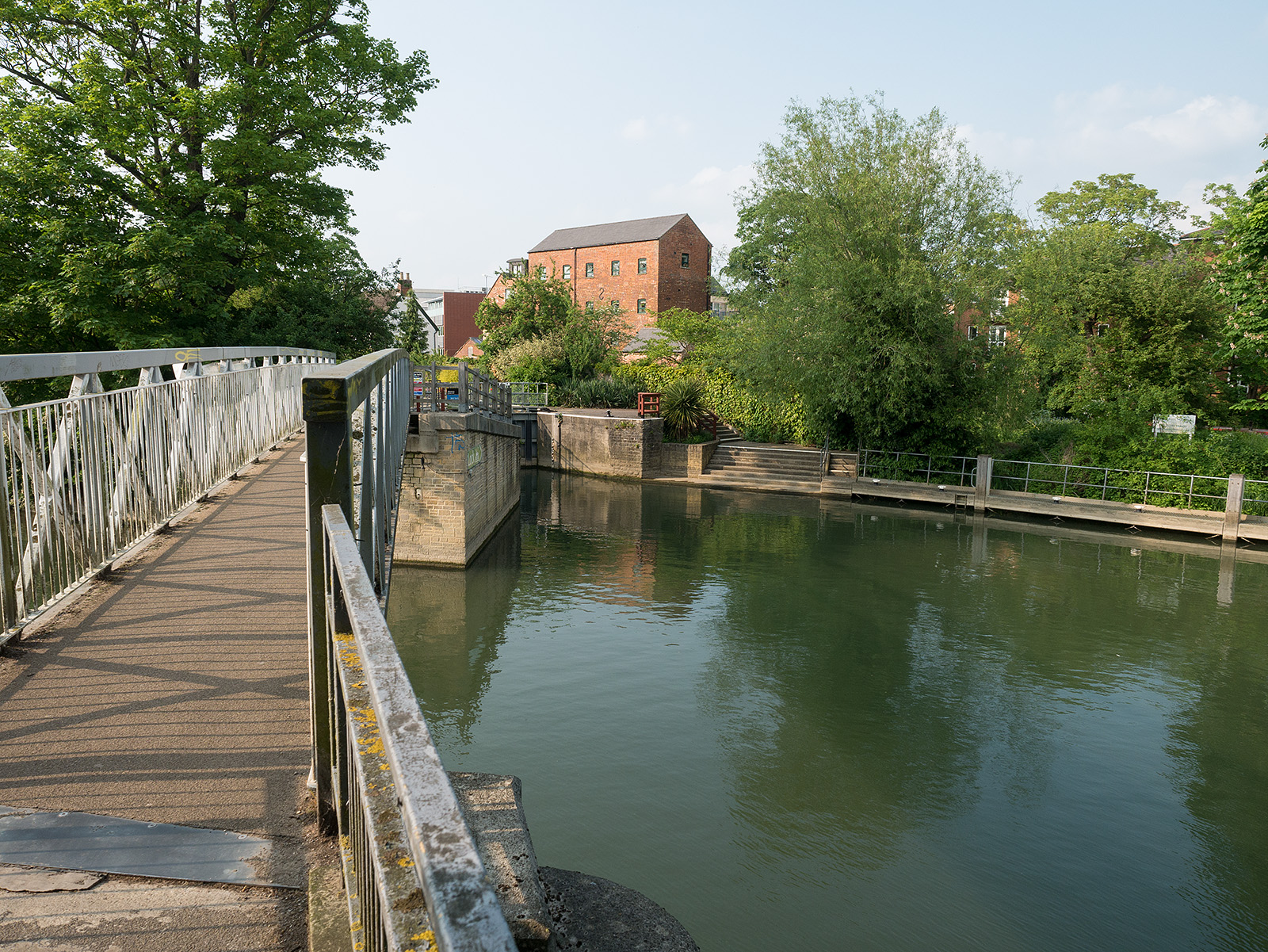 Osney lock