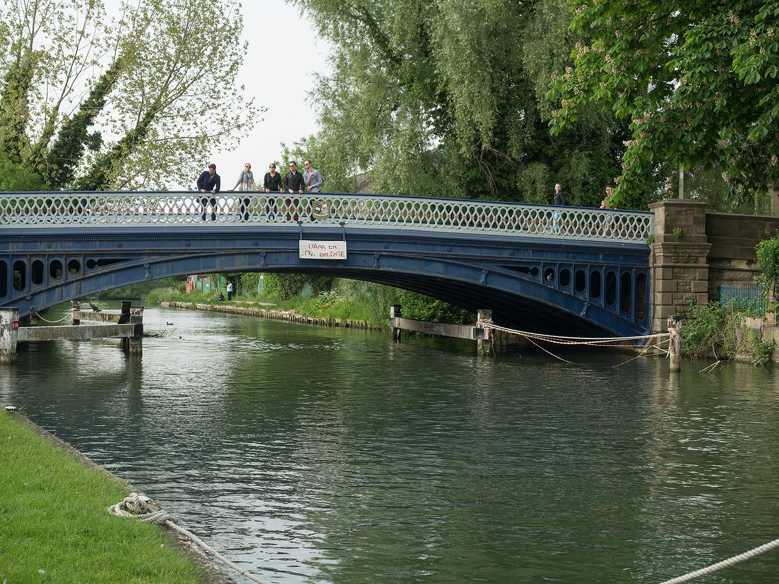 End of the walk at Botley Road bridge