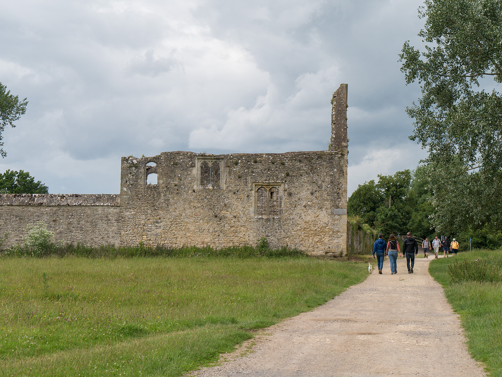 Remains of Godstow Abbey