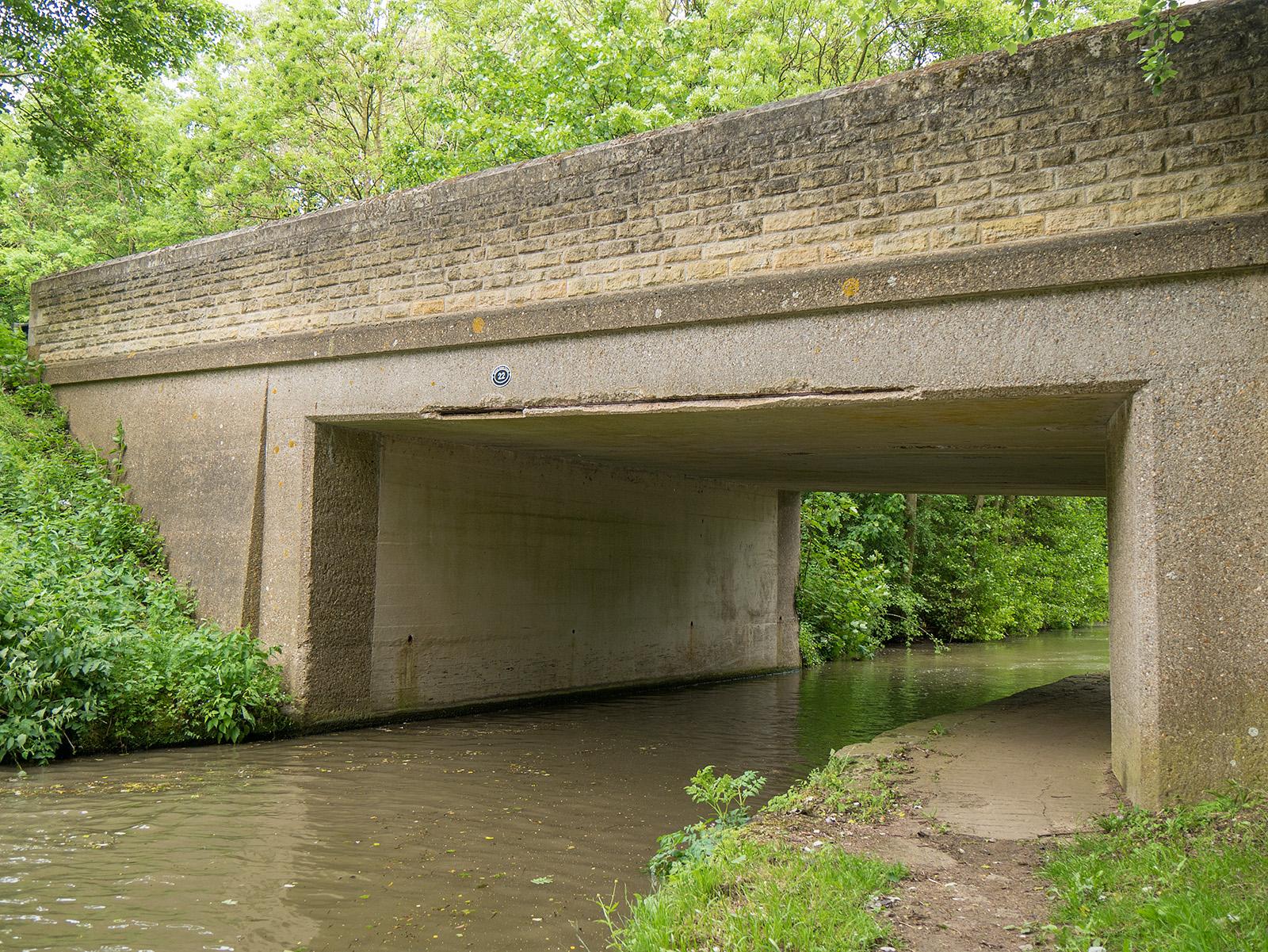 Bridge 22 - so boring it has no name