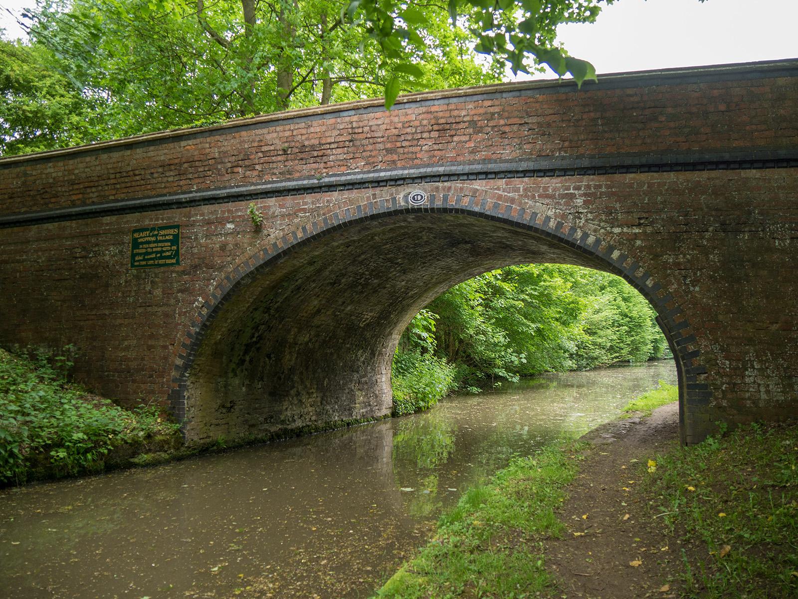 Bridge 19 - Diamond bridge