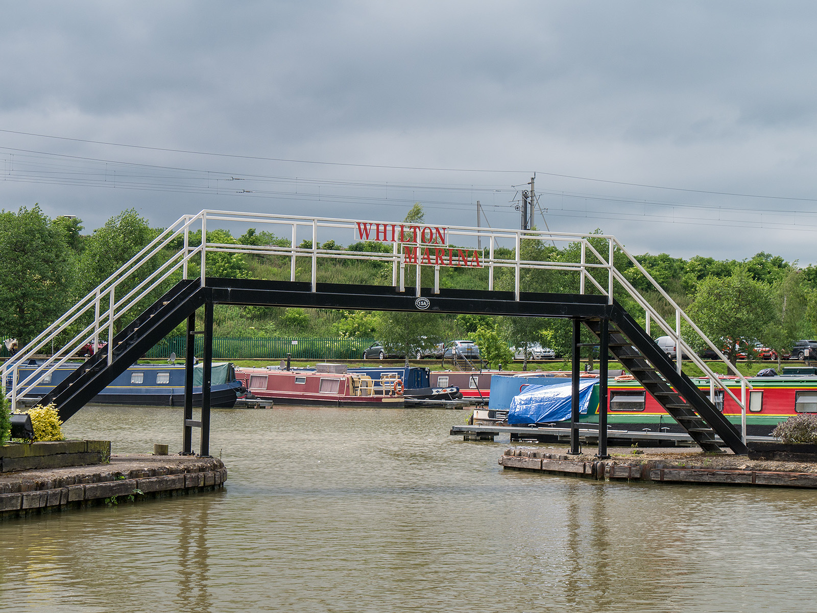 Whilton Marina - there's a karting circuit nearby here somewhere...