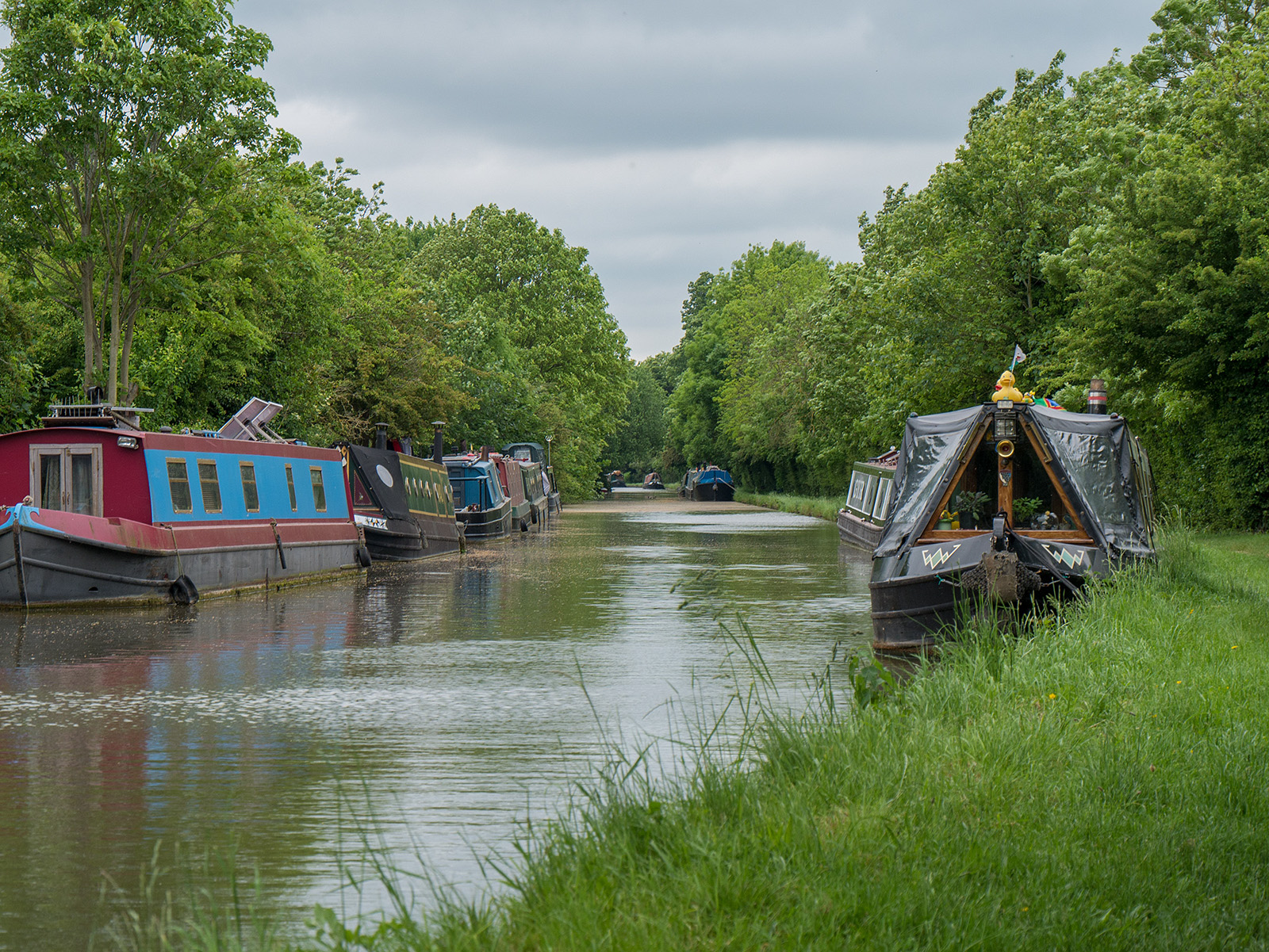 Heading north from Weedon
