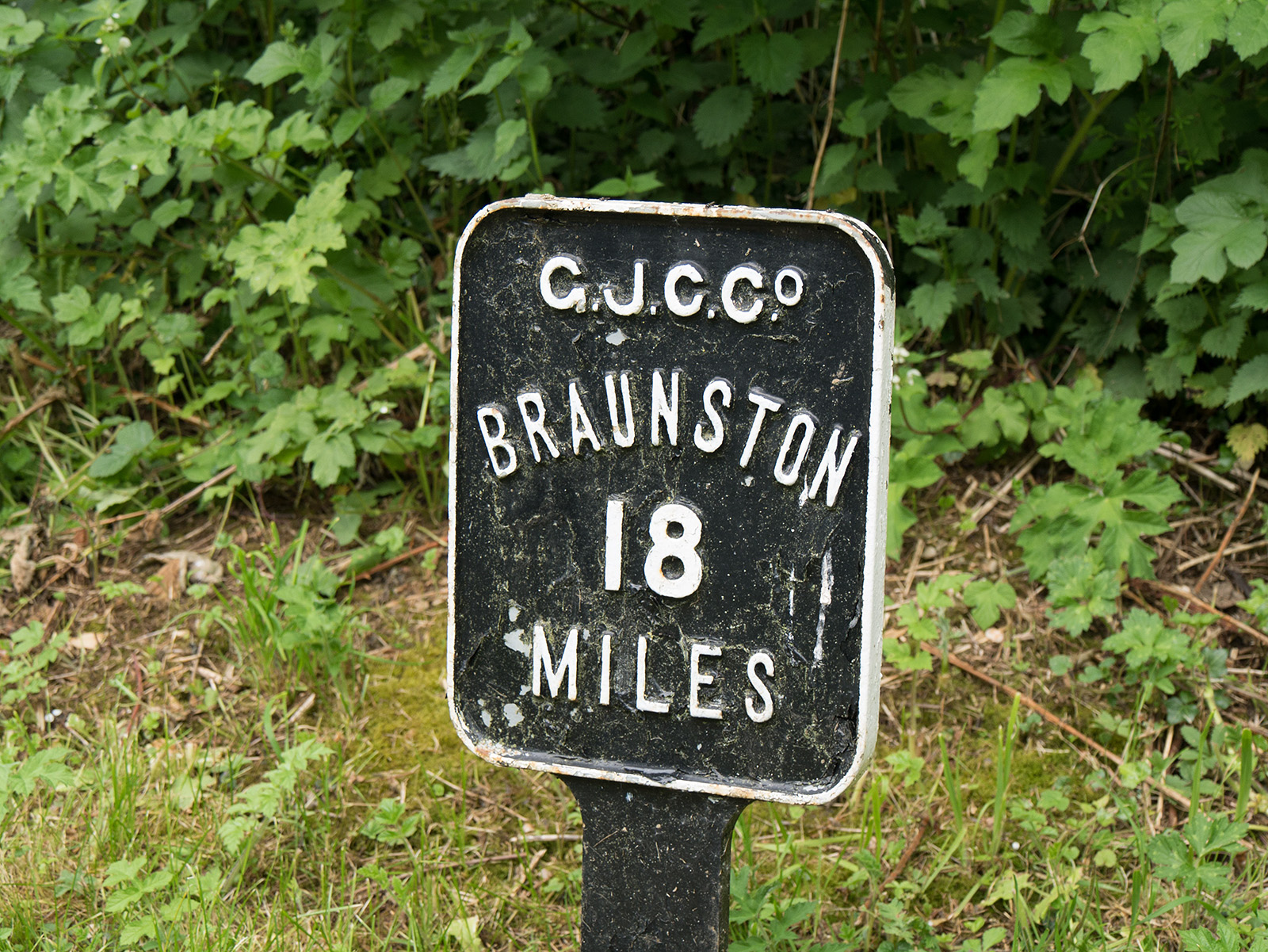 Only 18 miles to Braunstone junction