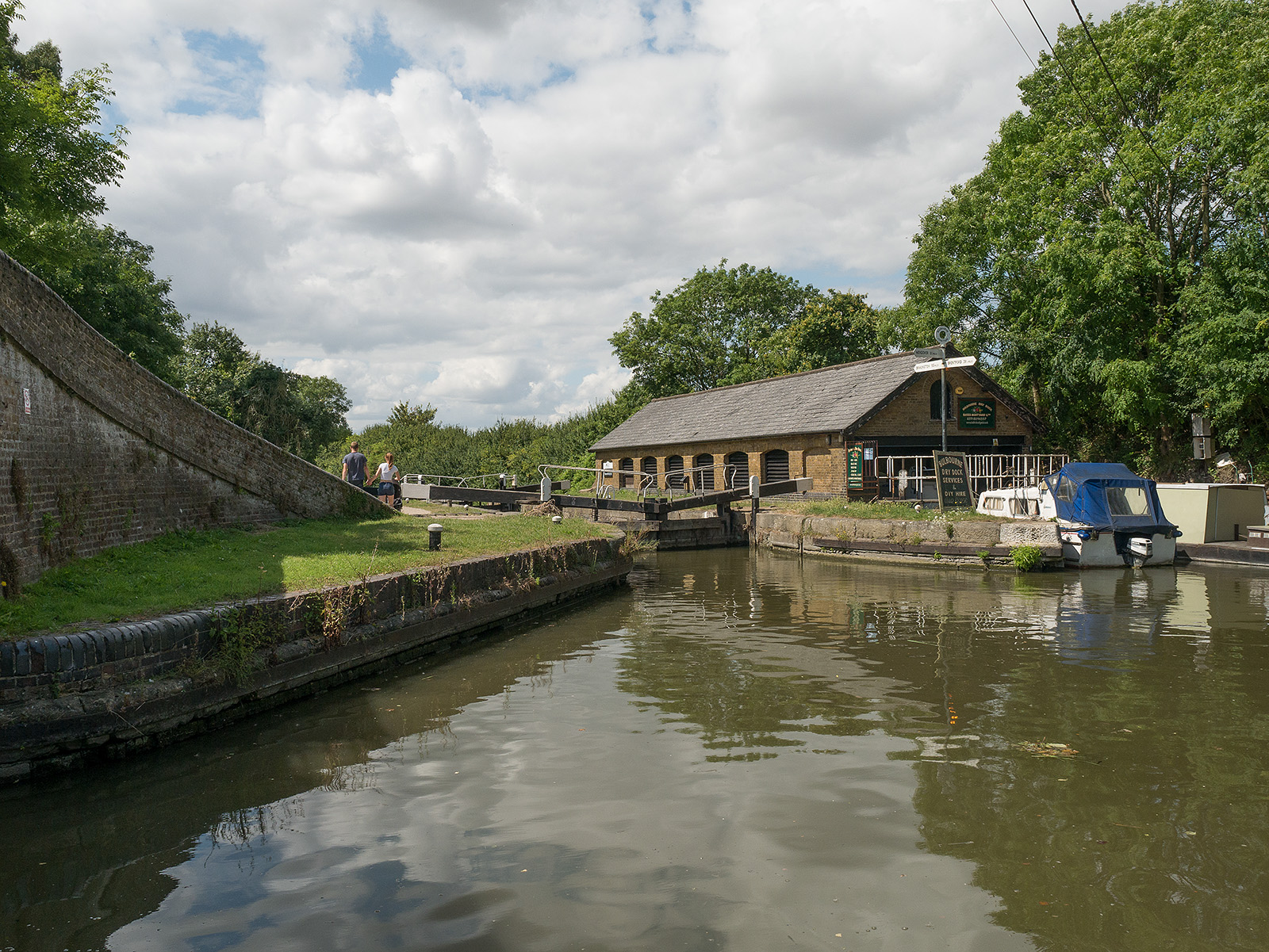 Top of Marsworth Locks