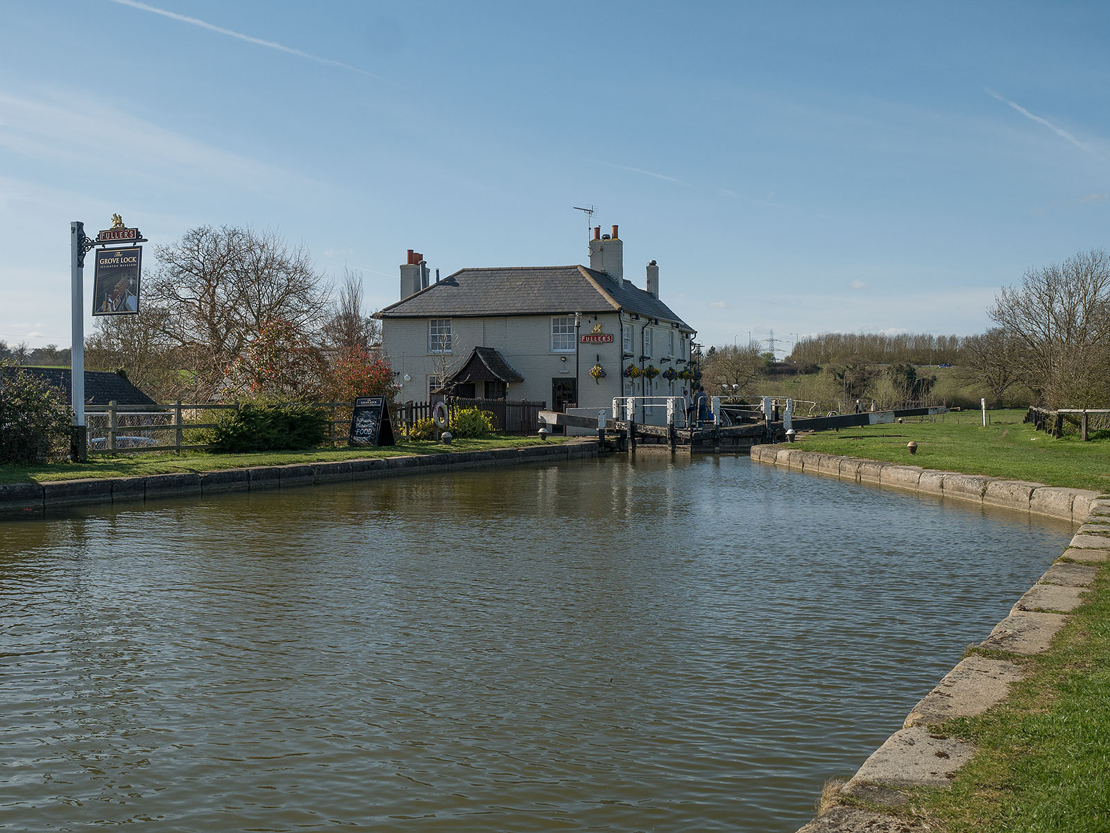 Approaching Grove lock