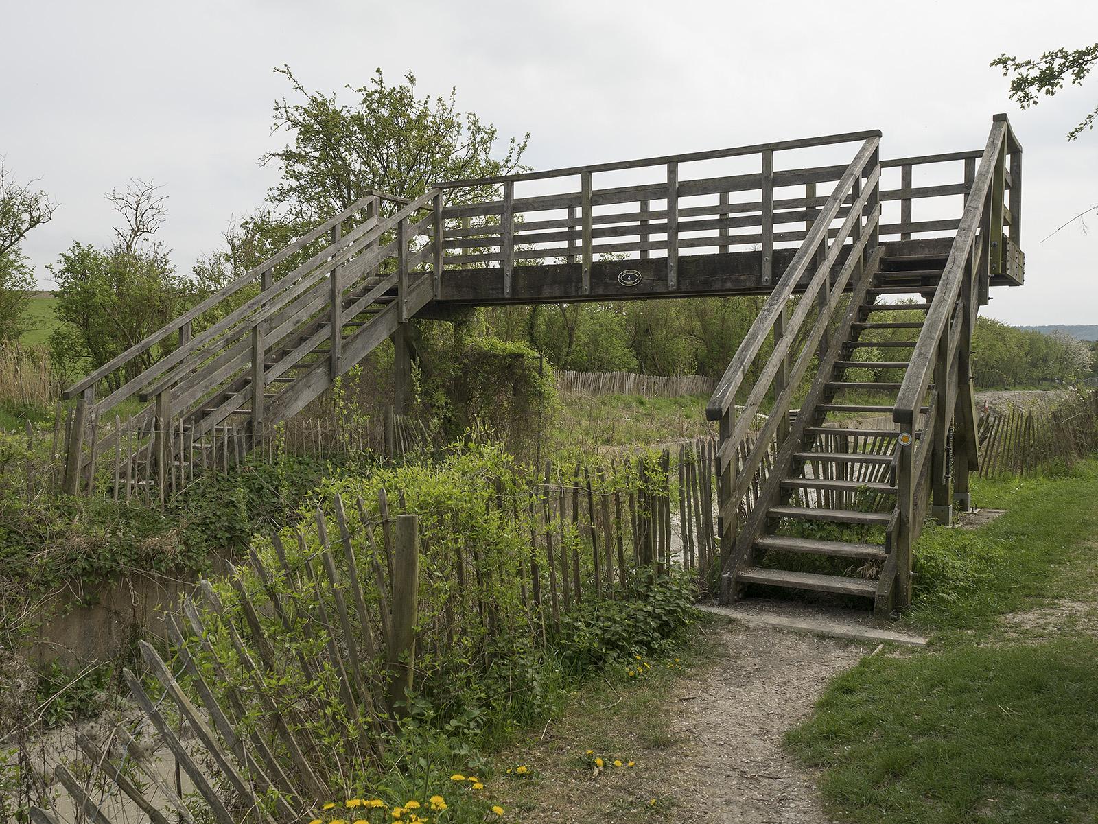 Pat Saunders bridge