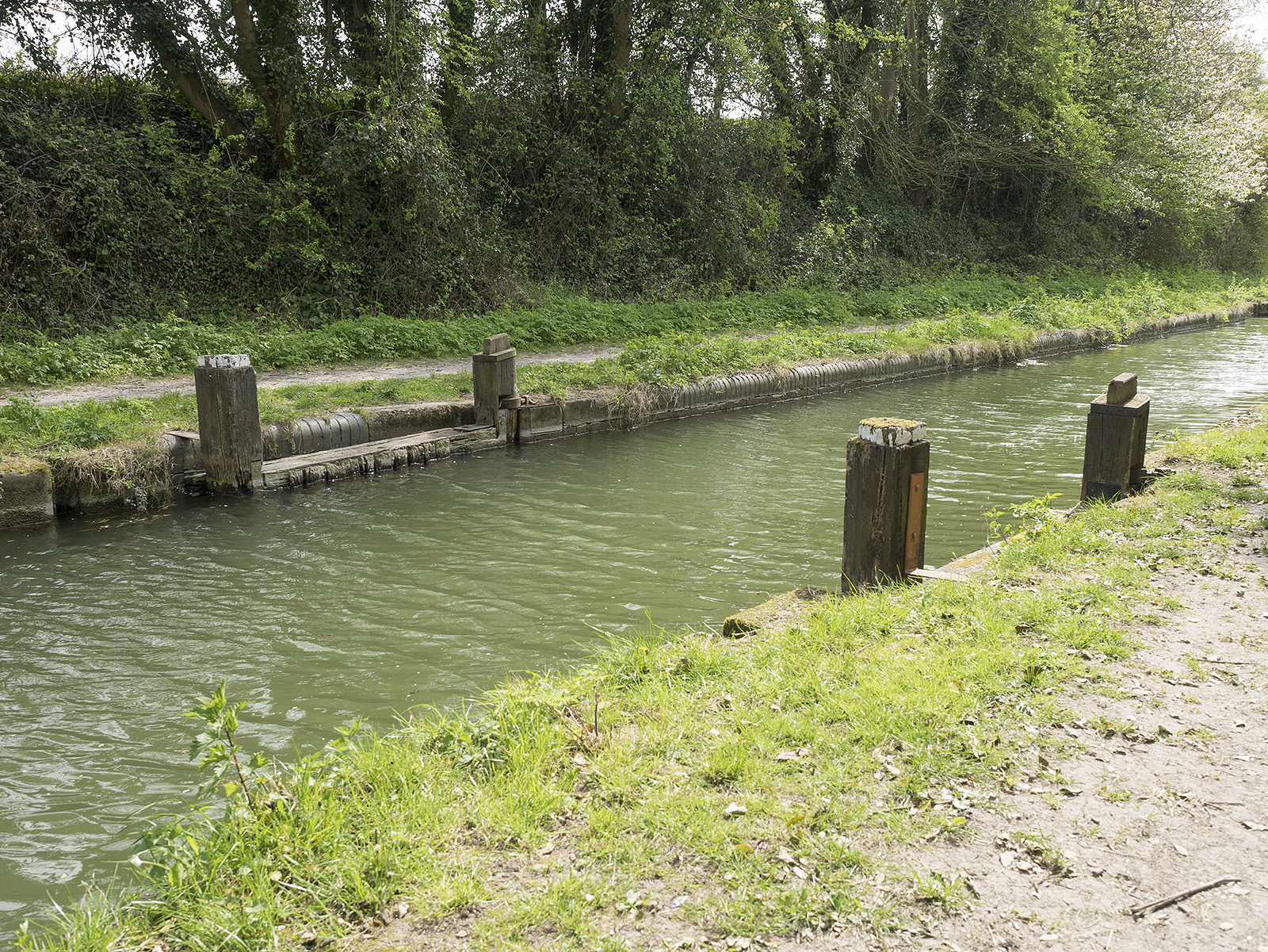 Remains of the stop lock