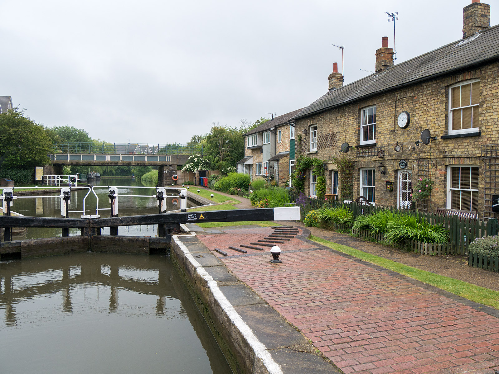 The lock at Fenny Stratford