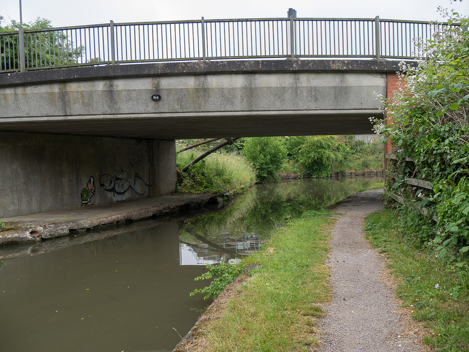 Bridge 94 - typical of the selection of bridges on this walk