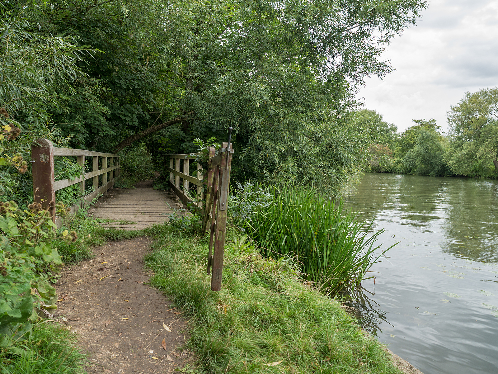 Another small footbridge