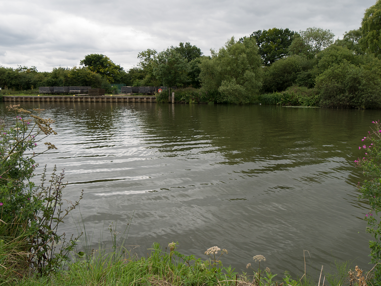 Aha - the River Thames!
