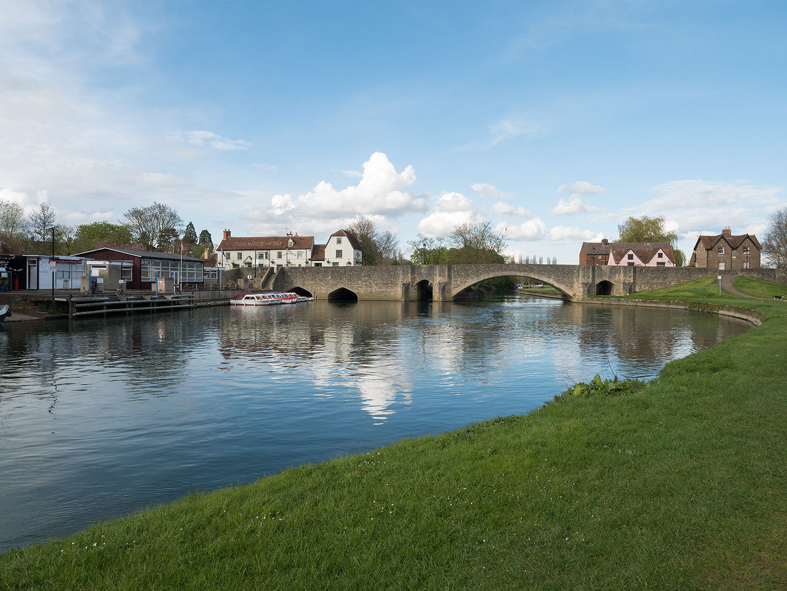Bridge across the Thames at Abingdon