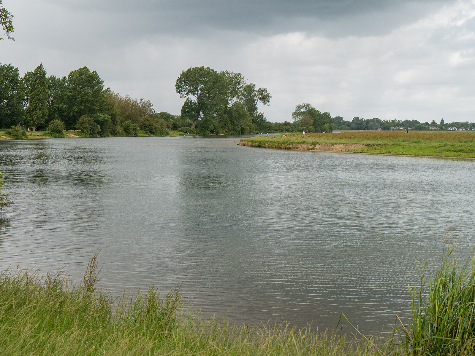 Curve of the river near Binsey