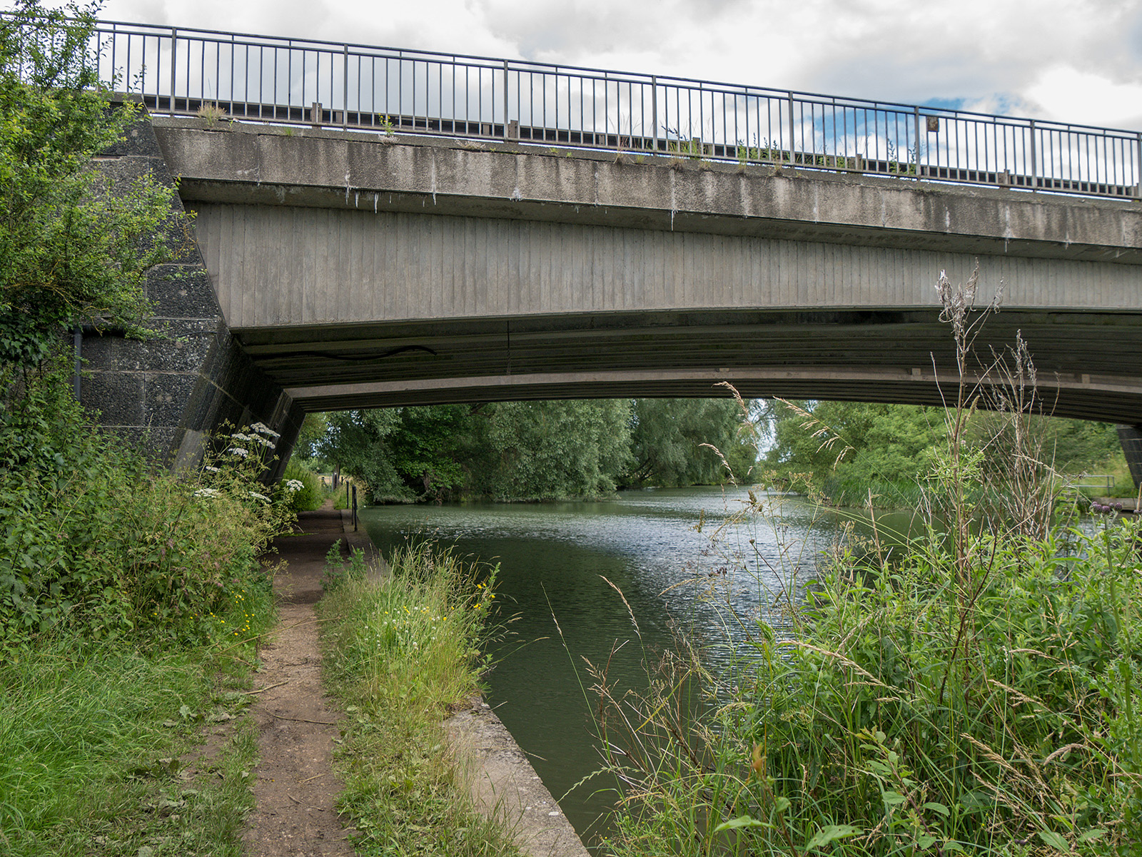 A34 Western Bypass bridge