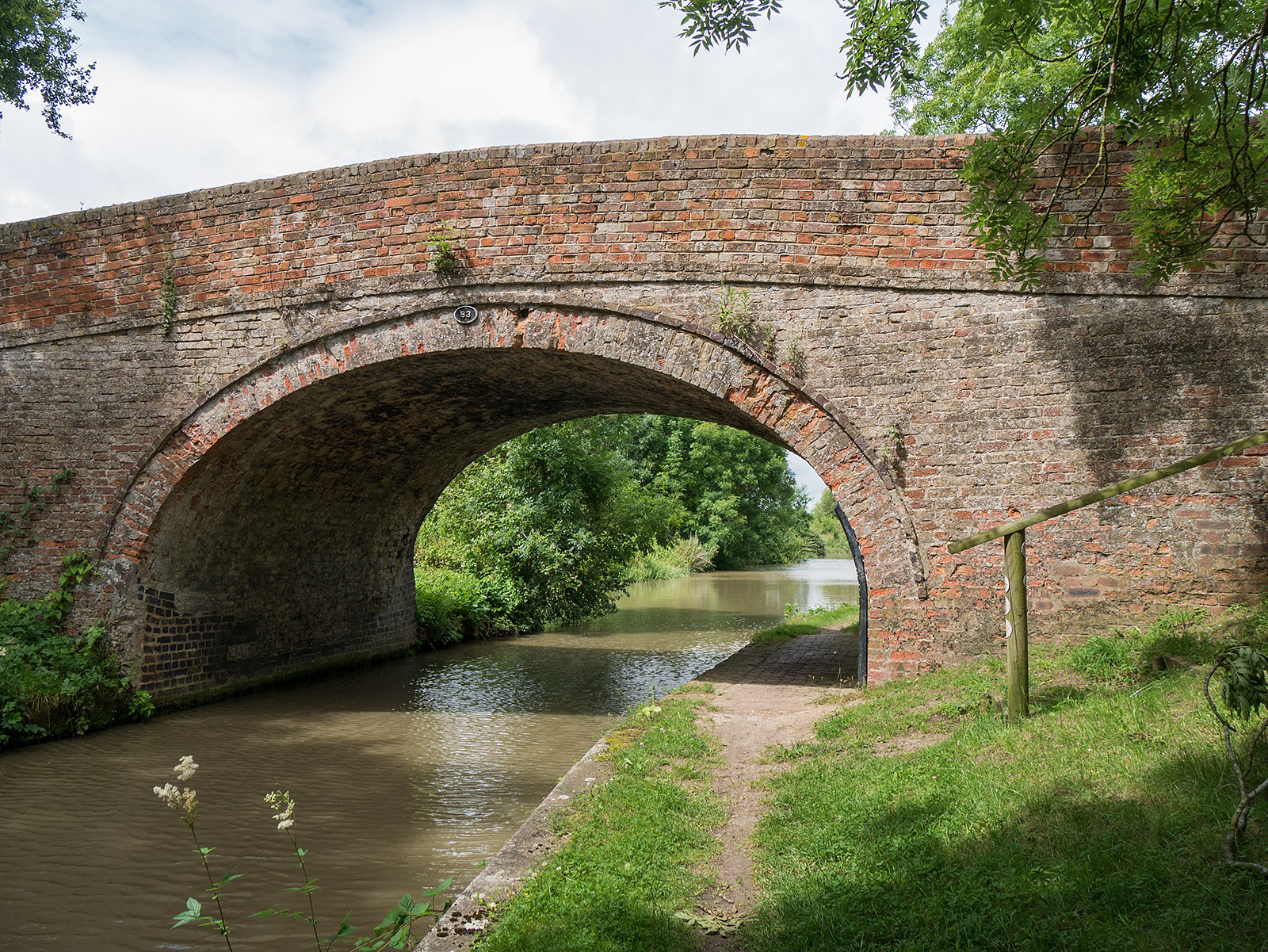 Bridge 63 near Isworth Farm