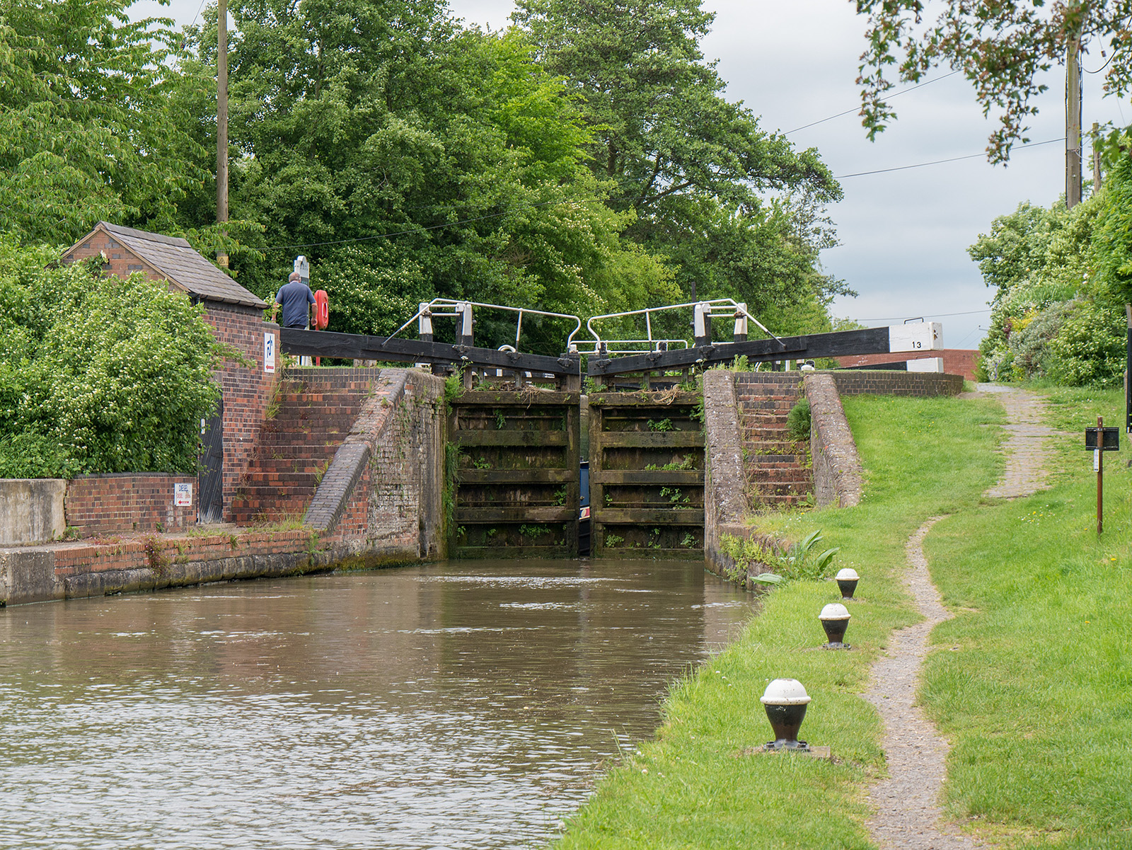 Buckby bottom lock 13