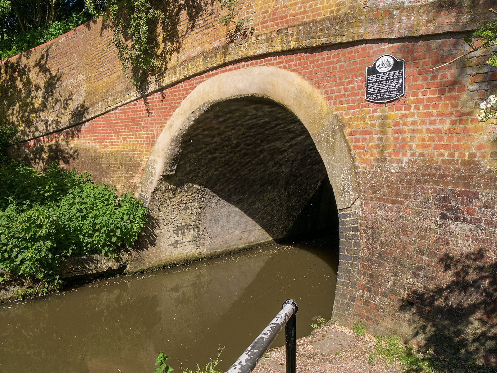 Braunston tunnel, western entrance